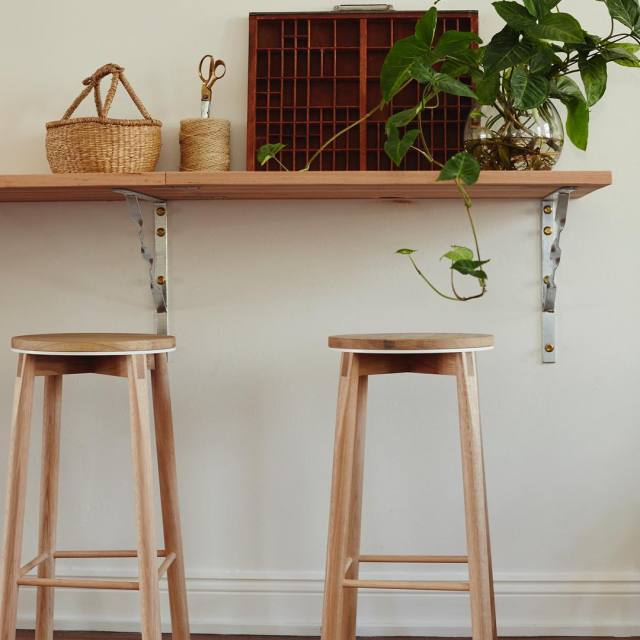 Another shot from handkraftedhq Jason Stancombes Crop Stools at ourhellip