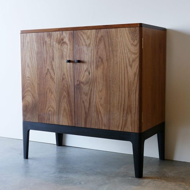 Bespoke record cabinet by Nathan Day in Victorian Blackwood ??????hellip