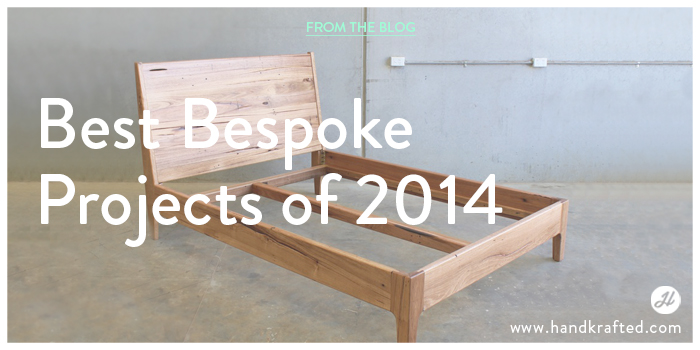 Best Bespoke Furniture Projects of 2014