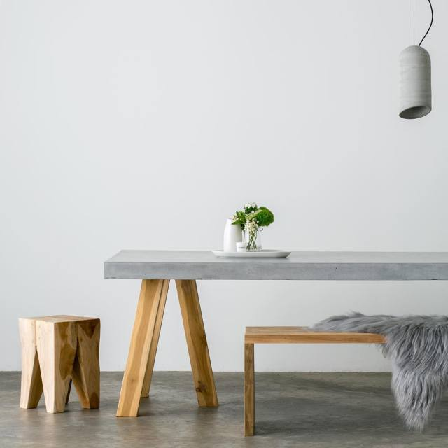 The Obi concrete dining table by SLABSbyDesign ???? Take ahellip