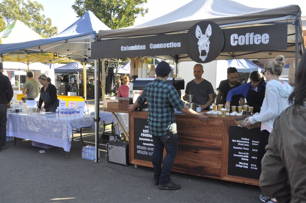 Colombian Connection Coffee Cart