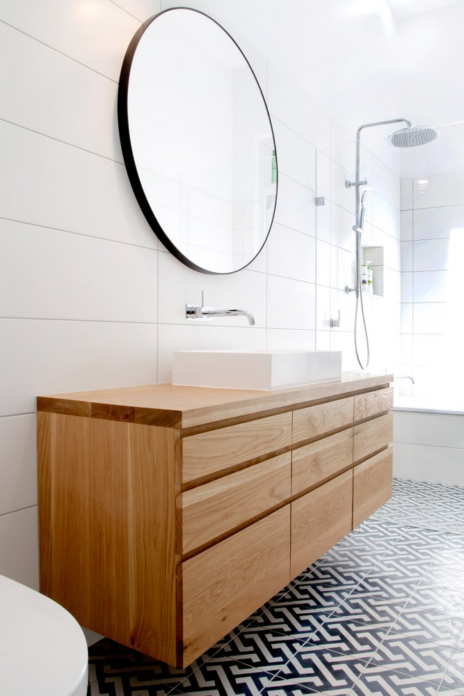 American Oak Bathroom Vanity