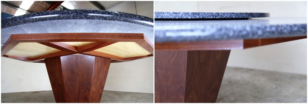Stone Dining Table Details