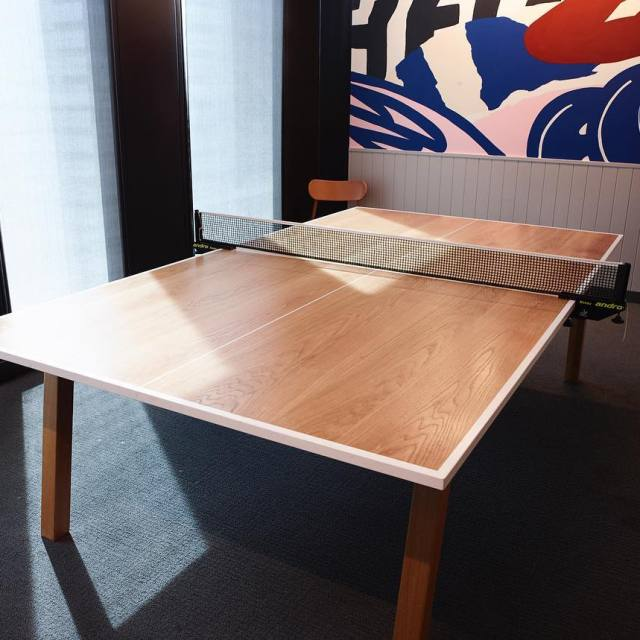 An office essential the ping pong meeting table Finely craftedhellip