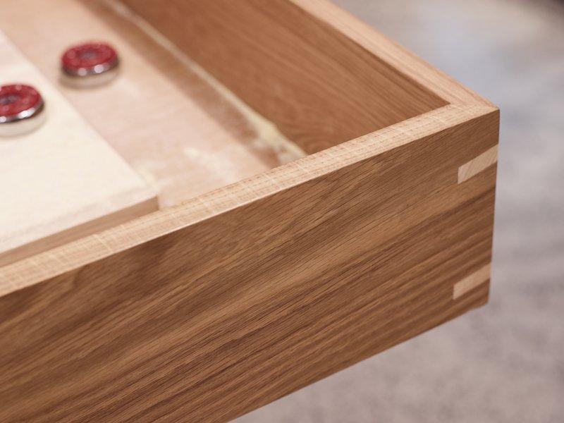 Jonathan West Shuffleboard Table Detail