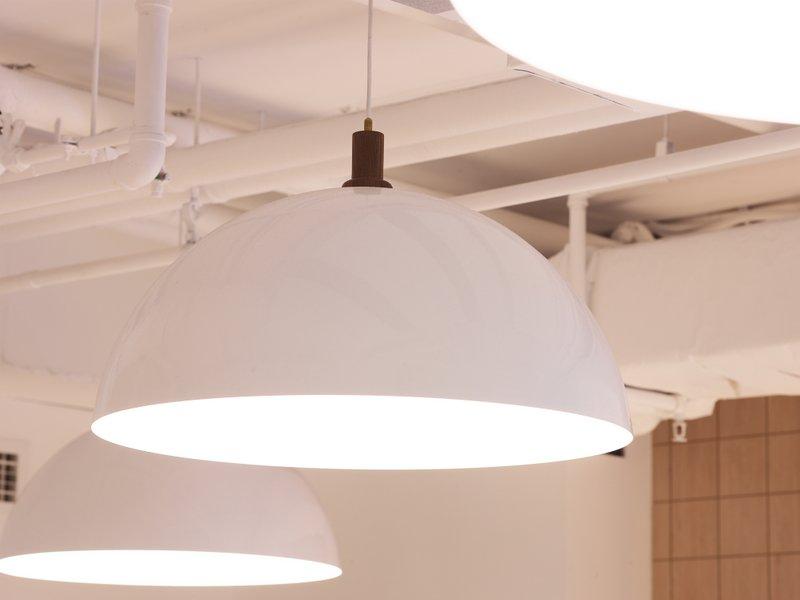 Brass Light Fittings by Asher Abergel