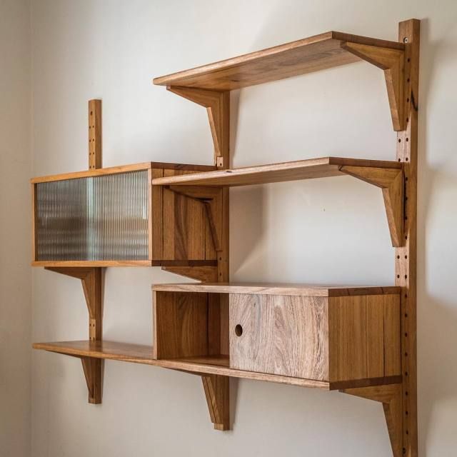 Wall unit by Trevor Neal Mornington Peninsula VIC Another ofhellip