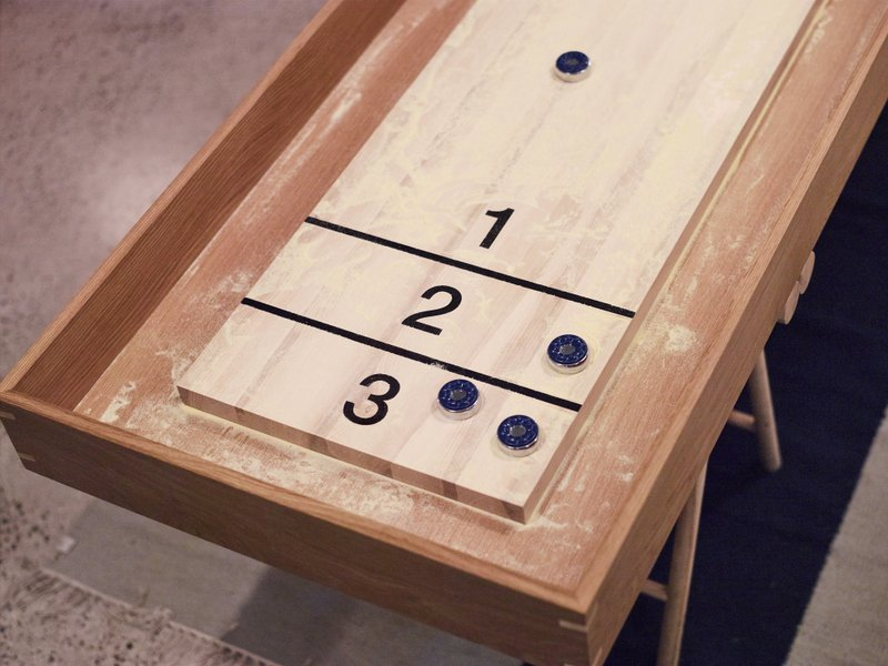 Custom Timber Shuffleboard