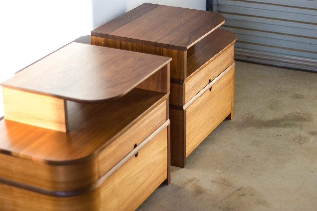 Art Deco Bedside Tables