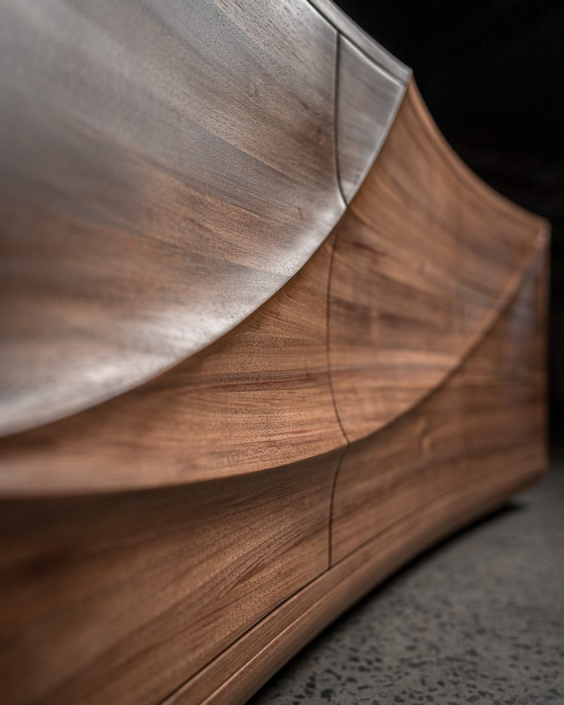Sculpted Cabinet by Nick Pedulla